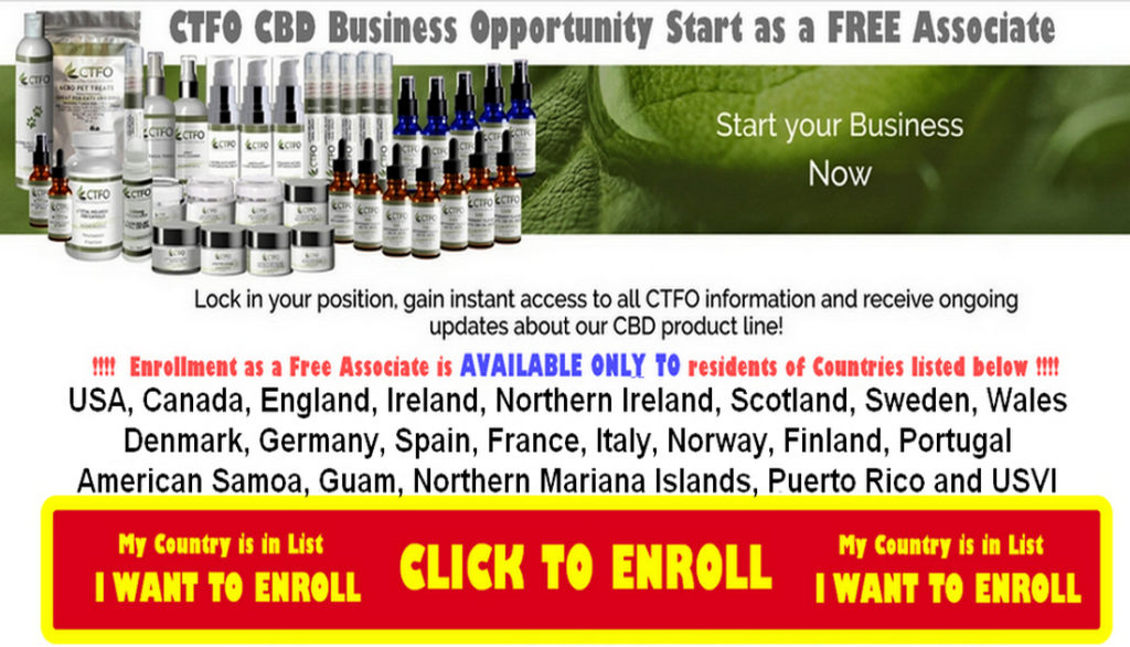 ctfo cbd oil business opportunity JOIN NOWu